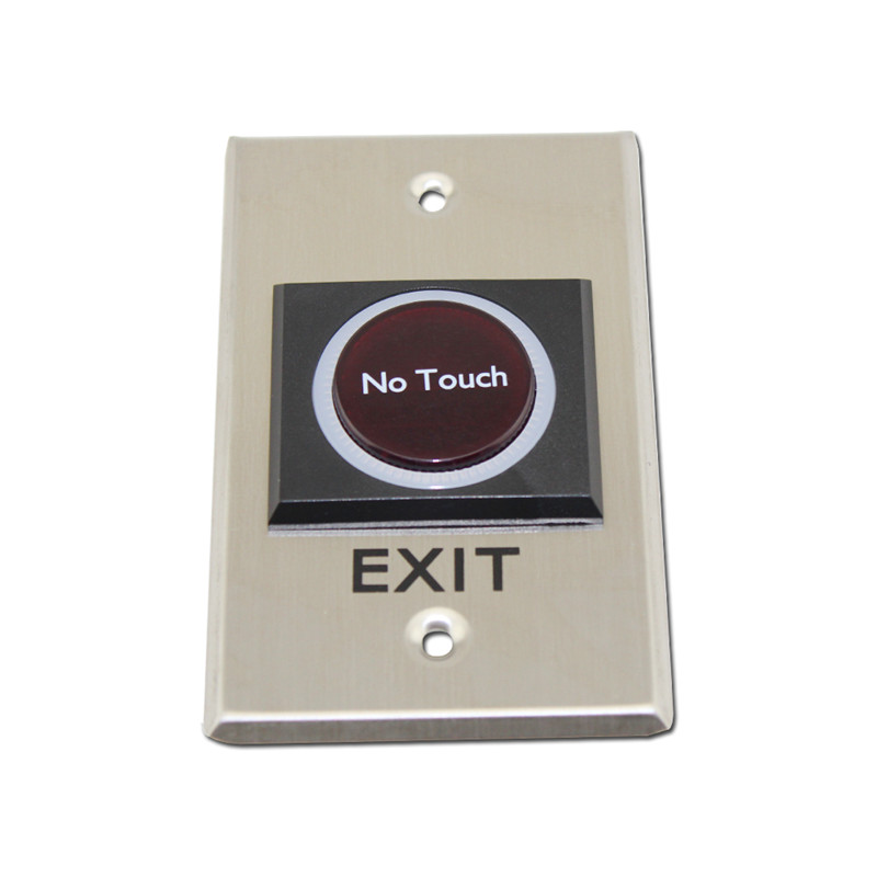 Design Infrared Touch Exit Button Wall Mount Exit Button Push Door Release Exit Button Switch For Access Control exit