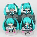 Free Shipping 10cm Cute Nendoroid Vocaloid Hatsune Miku Action Figure  Model Collection  Miku Doll Toys