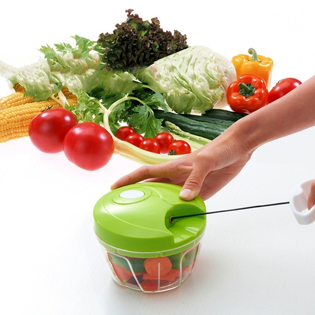Essential Kitchen Tools Onion Vegetable Chopper Multifunctional Hand Speedy Chopper  Vegetable Fruits Chopped Shredders U0026 Slicers