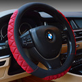 Braided Leather On The Steering Wheel Breathable Anti-skid  Sports Steering Fashion Wheel Stuurhoes