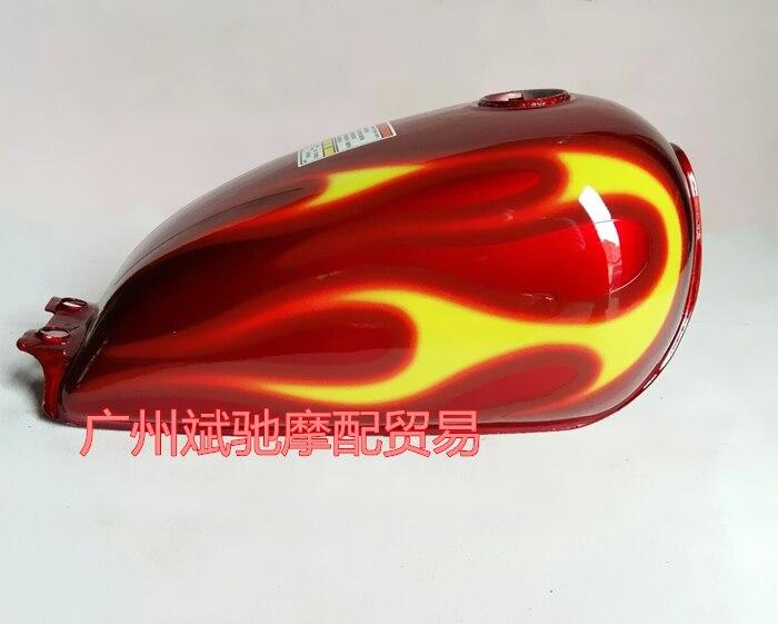 купить Motorcycle GN125 Prince tank GN125H Prince fuel tank for suzuki Soul chariot GN125 GN250 GZ150 по цене 4079.85 рублей