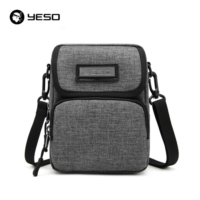 YESO bolsa de Ombro Bolsas para Homens Resistente À Água Nylon Lazer Crossbody sacos Masculino bolsa de Viagem de Negócios Saco Do Mensageiro