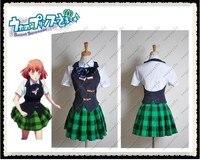 Hot Sell Custom Made Uta no Prince Sama School Summer Uniform Girl Cosplay Costume For Halloween Best Choice For Coser