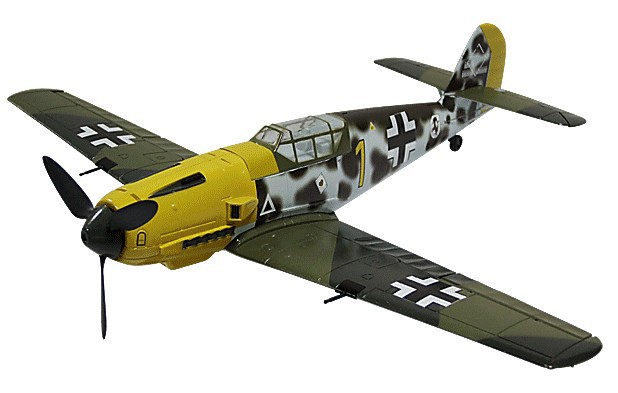 RC Warbird Kit Micro BF109-in RC Airplanes from Toys