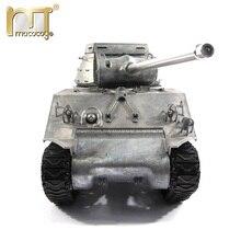 מאטו מתכת טנקי דגם מוכן לרוץ 100% מתכת M36B1 RC טנק משחתת אינפרא אדום נרתעת גרסה