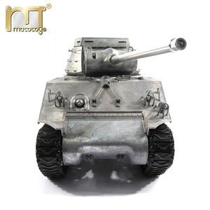 Image 1 - 마토 금속 탱크 모델 실행 준비 100% 금속 M36B1 RC 탱크 파괴자 적외선 리코일 버전