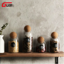 Creative Kitchen Transparent Storage Bottles For Bulk Produc