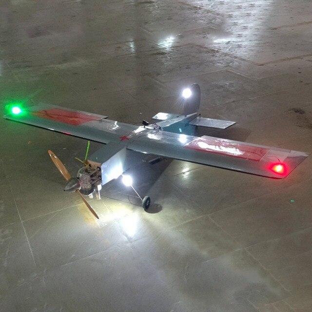 Contrôleur de lumière LED canalisé par carte de contrôleur de lampe de Navigation de Simulation pour le Drone davion daile fixe de RC