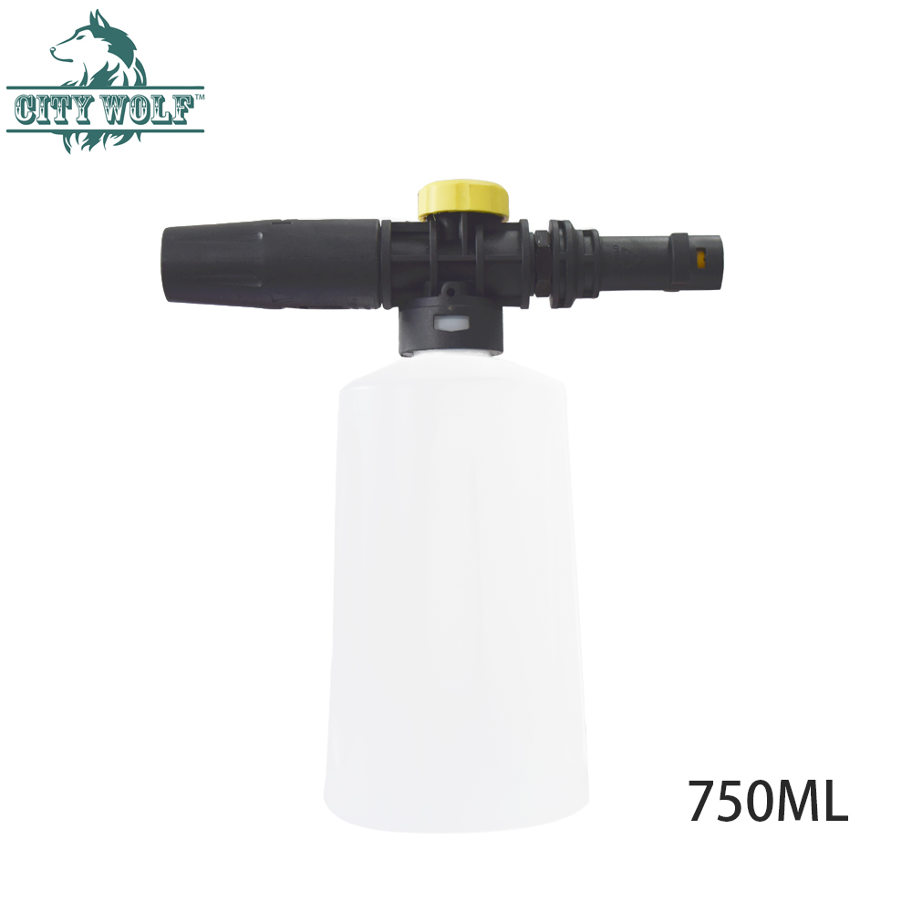 Snow Foam Lance For Karcher K2 K7 High Pressure Foam Gun Cannon All Plastic Portable Foamer