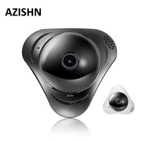 AZISHN 960P 3D VR WI FI Camera 360 Degree Panoramic IP Camera 1 3MP 3MP FIsheye