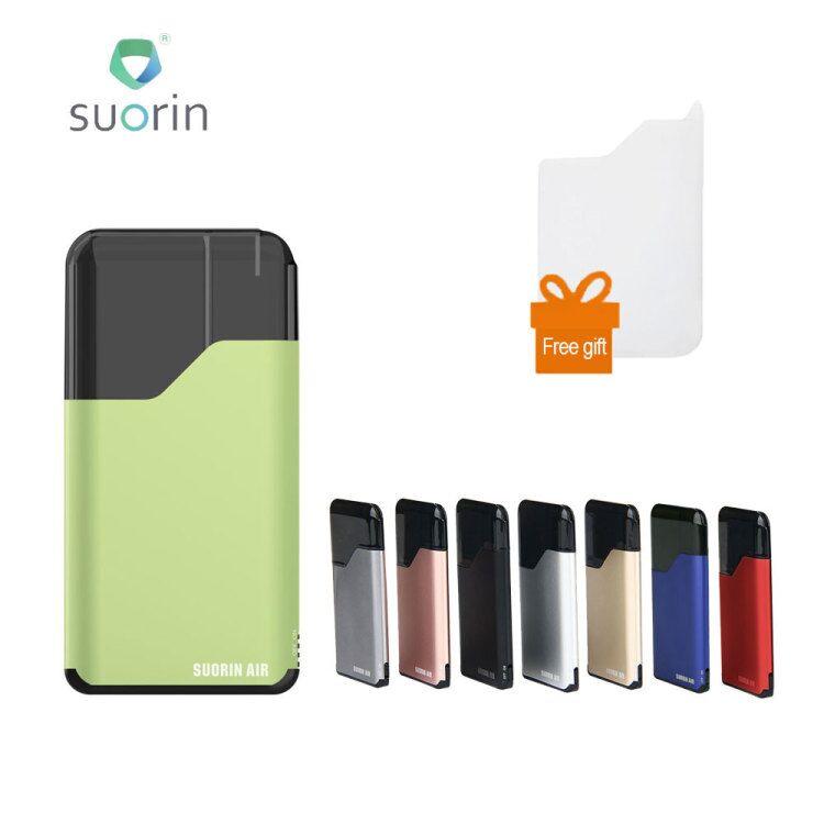 100% Originale Suorin Aria Starter Kit 400 mah Costruito in Batteria 2 ml cartuccia Portatile vape Sigaretta Elettronica kit vaporizzatore