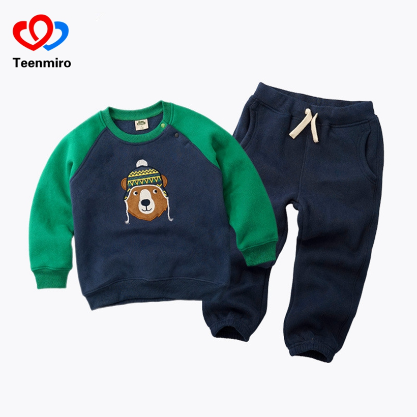 Spring Baby Girl Clothing Set Kids Cartoon Sport Suits Children Tracksuits Boys Sweatshirt Toddler Character Casual Clothes 2pcs