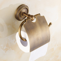 Paper Holders Solid Copper Antique Towel Paper Roll Holder Paper Rack Wall Mount Bathroom Accessories Paper Tissue Holder Sj16
