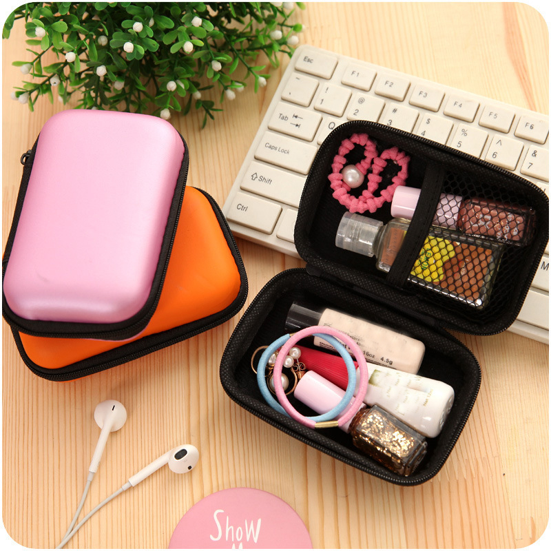 ETya New Portable Travel Electronic SD Card USB Cable Earphone Phone Charger Accessories Bags For Phone Data Organizer Bag Case