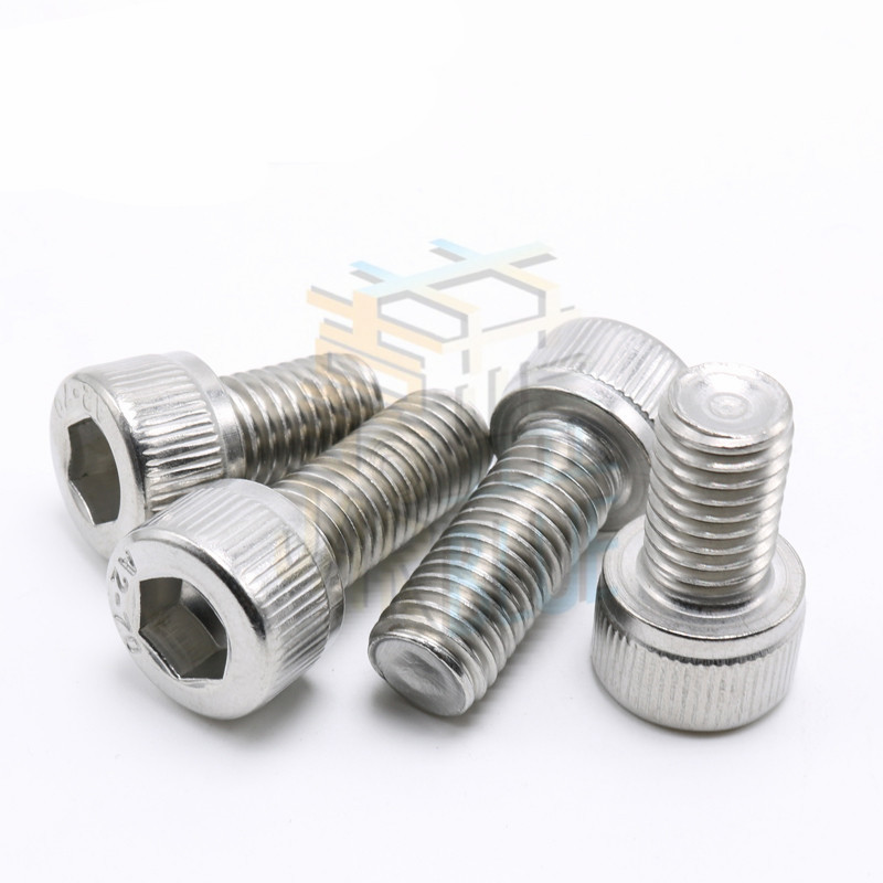 100pcs/Lot Metric Thread DIN912 M3x8 mm M3*8 mm 304 Stainless Steel Hex Socket Head Cap Screw Bolts free shipping 100pcs lot metric thread din912 m4x12 mm m4 12 mm 304 stainless steel hex socket head cap screw bolts page 2