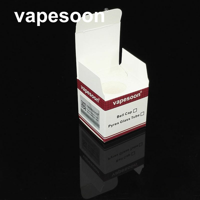 High Quality 100% Original VapeSoon Spare Replacement Pyrex Glass Tube for Vaporesso Estoc Tank Mega 4ml Atomizer Free Shipping