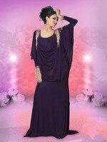Abendkleider 2018 Дубай Арабский Кафтан мусульманское длинное вечернее кисточкой из бисера Вечернее платье вечернее платье для матери невесты пла