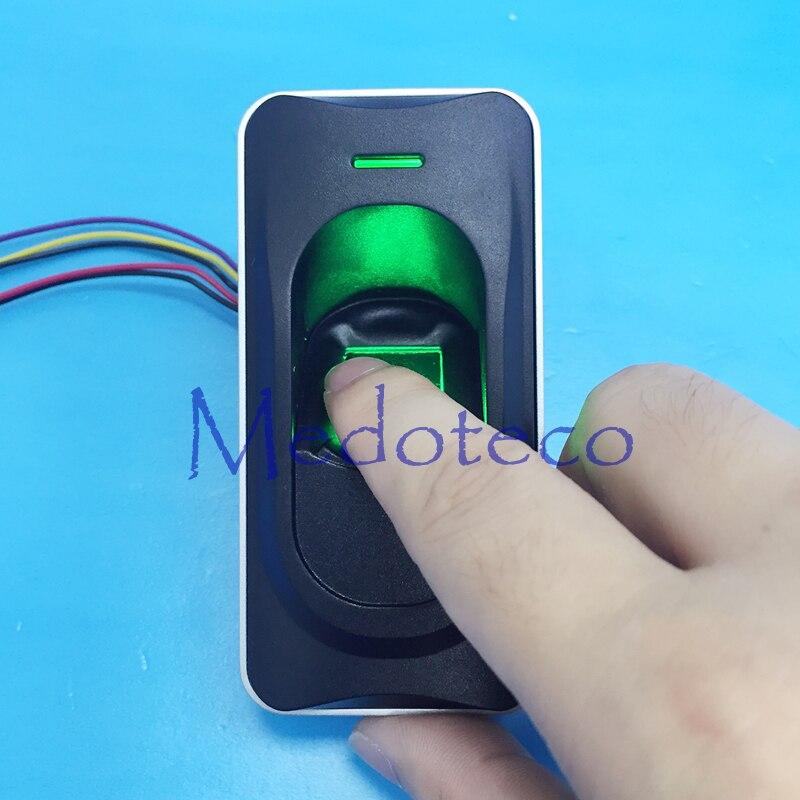 FR1200 RS 485 Fingerprint Id card reader waterproof fingerprint slave reader work with inbio160 inbio260 Inbio