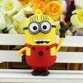 NEW 2017 Sales Mini Cute Cartoon Pen Drive Minions Minion Usb Memory Stick 64gb Usb Flash 16gb 16 Gb Pendrive 4gb Free Shipping