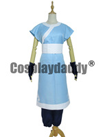 Avatar The Last Airbender Katara cosplay costume Halloween Outfit