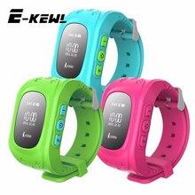 Q50 GPS Smart Kid Safe para el Reloj inteligente Reloj SOS Llamada Localizador Localizador Rastreador para Perdida Anti Del Niño Hijo de Monitor de Bebé