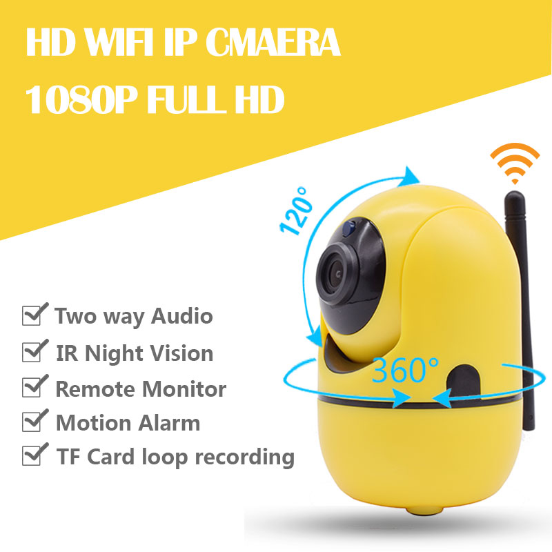 1080p HD Home Security IP Camera Wireless Smart WiFi Camera WI-FI Audio Record Surveillance Baby Monitor HD Mini CCTV Camera hisecu 1080p home security ip camera wireless smart wifi camera wi fi audio record surveillance baby monitor hd mini cctv camera