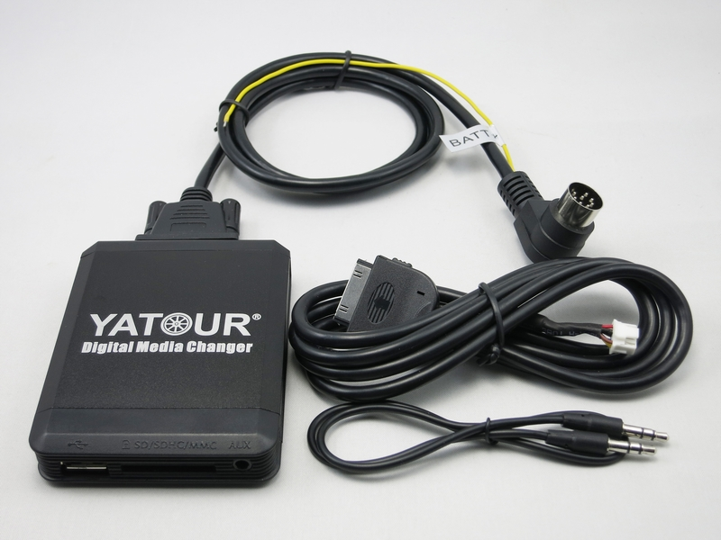 Yatour YT-M07 pentru iPod iPhone USB SD SD AUX Media changer digital - Electronică Auto