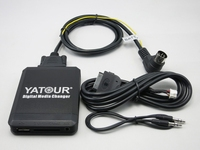 Yatour YT M07 for iPod iPhone USB SD AUX Digital Media Changer For Volvo HU xxx C70 S40 S60 S80 XC70 V70 V40 Audio Car MP3 Playe
