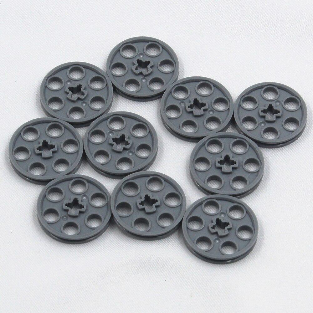 Self-Locking Bricks Free Creation Of Toy Technic WEDGE-BELT WHEEL D24 10Pcs Compatible With Lego NOC4587275