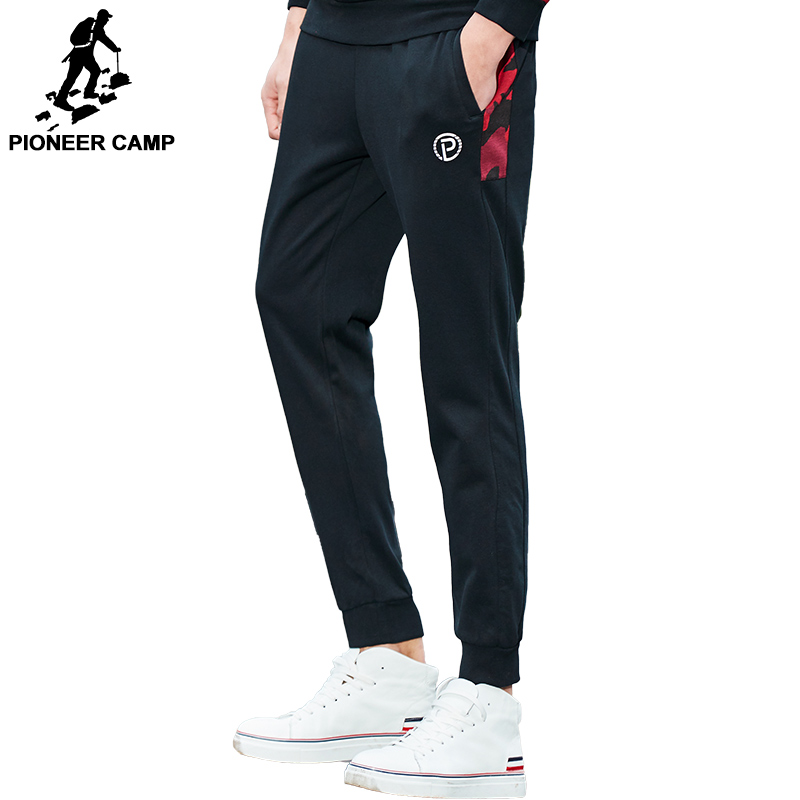 Pioneer Camp 2018 New Spring casual pants men brand clothing Camouflage patchwork Sweatpants quality male joggers AWK702044