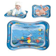 ISHOWTIENDA Whale Inflatable Baby Water Mat thicken PVC Toddler Fun Activity Play Center for Children & Infants for babies(China)