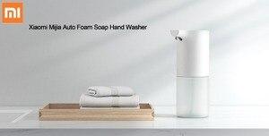 Image 2 - Xiaomi dispensador de jabón de manos automático, espuma infrarroja 0,25 s, con batería líquida, envío desde ES/RU