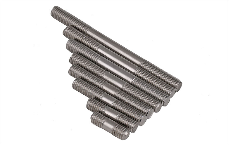 M12 x 45mm Stainless Steel 304 Right-Hand Thread Fully Threaded Thread Rod 10PCS