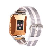 New Release Sports Royal Woven Nylon Bracelet Strap Band For Fitbit Ionic drop shipping oct25