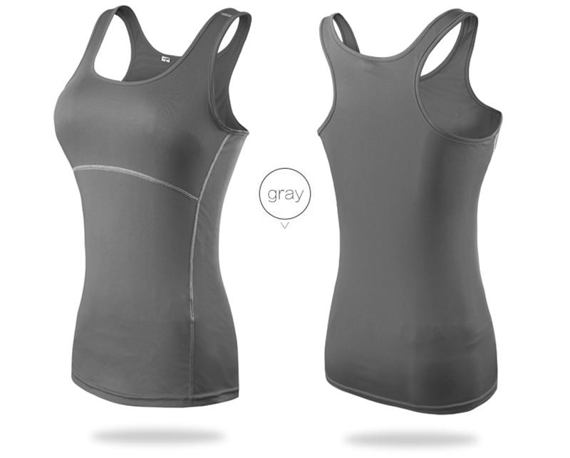 Women's Yoga Tops Sexy Gym Sportswear 16