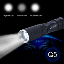 Mini LED Flashlight Adjustable LED Torch Light 3-Modes Tactical Flashlight Waterproof Portable lights Lanterna 14500 Battery