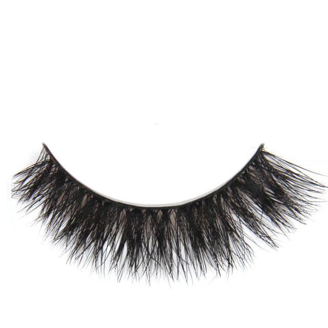 Top Quality Handmade 2pairs 100 Real Horse Hair False Eyelashes
