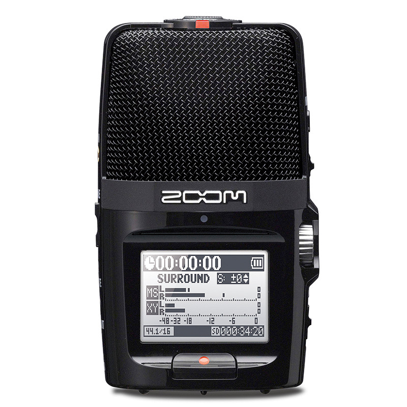 PK Tascam portable ZOOM H2N Handy Recorder Ultra Portable Digital Audio Recorder Stereo microphone Interview SLR