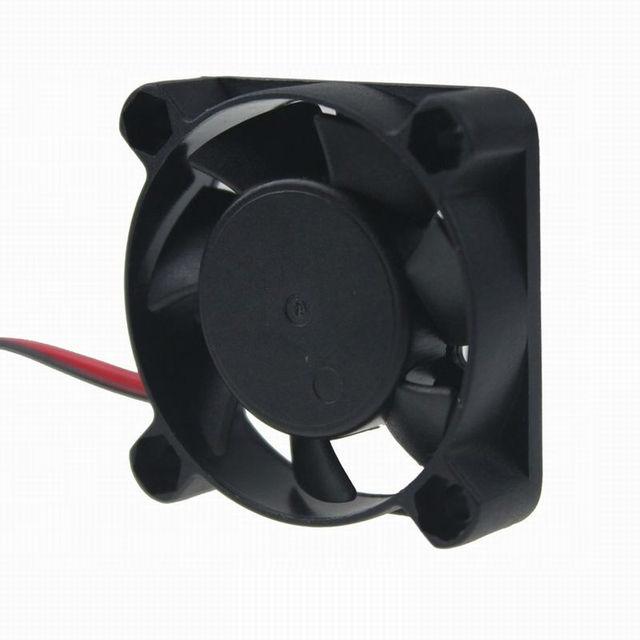 10Pcs Gdstime 2pin 40*40*10mm 40mm 4010 DC 12V Hotsell Mini Cooling Radiator Motor Fan
