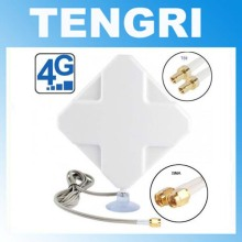 35dBi 4G Antenna With TS9 CRC9 SMA Connector For Huawei E392 E398 E589 E5372 E5375 E5756 E5776