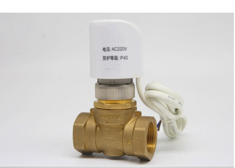 24v  Normally Open Close Electric Thermal Actuator For Manifold Underfloor Heating Valve Radiator Valve DN20 DN25