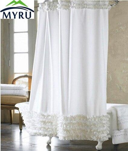Decoration De Rideau myru rushed rideau de douche shower curtain home decoration bathroom