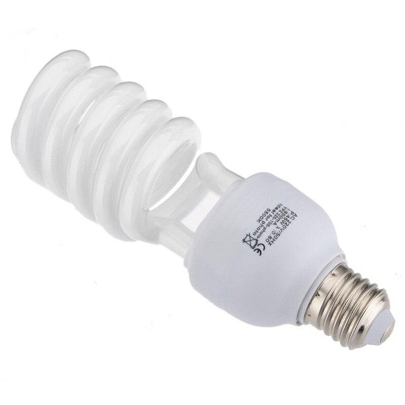E27 220V 45W 5500K Photo Studio Bulb Video Light Photography Daylight Lamp Photographic Lighting Studio Photo