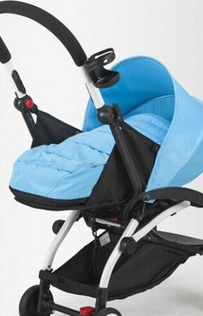 0 ~ 6 mois panier de couchage pour bébé poussette (besoin d'acheter avec poussette ensemble) 6 couleurs en stock panier de couchage nid de bébé - 6