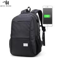Black Laptop Backpack Waterproof Man Computer Rucksack Travel Bag School Bags 15 6 Inch Women Bagpack