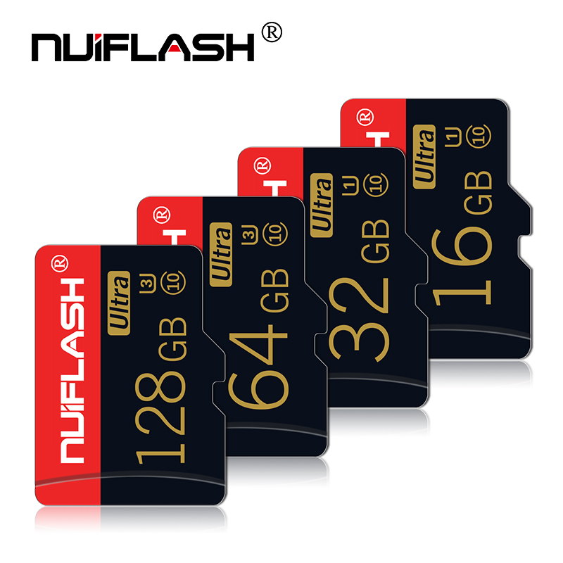 Nuiflash Micro TF Cards High Speed Memory Cards Class 10 Free Shipping 8G/16G/32G/64gb Micro SD Cards FOR Samsung,phone,tablets