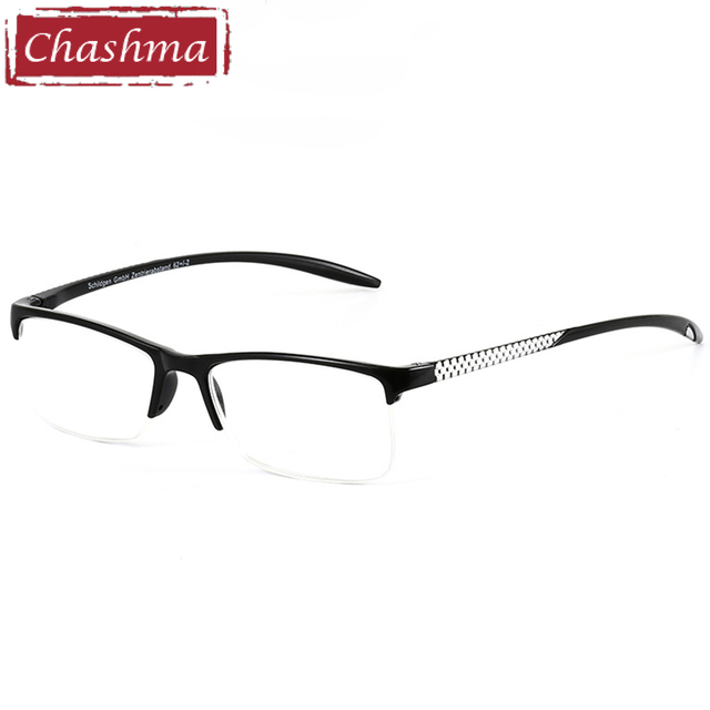 b78aa65679d Chashma Brand Light Weight TR 90 Reading Glasses Women Black Eyeglasses Men  Mobile and Computer Using Eyewear Frame Read Glasses