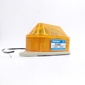 Image 3 - Anzeige licht N 3051 Strobe Signal Warnung licht Lampe kleine Blinklicht Sicherheit Alarm 12 V 24 V 220 V LED IP44