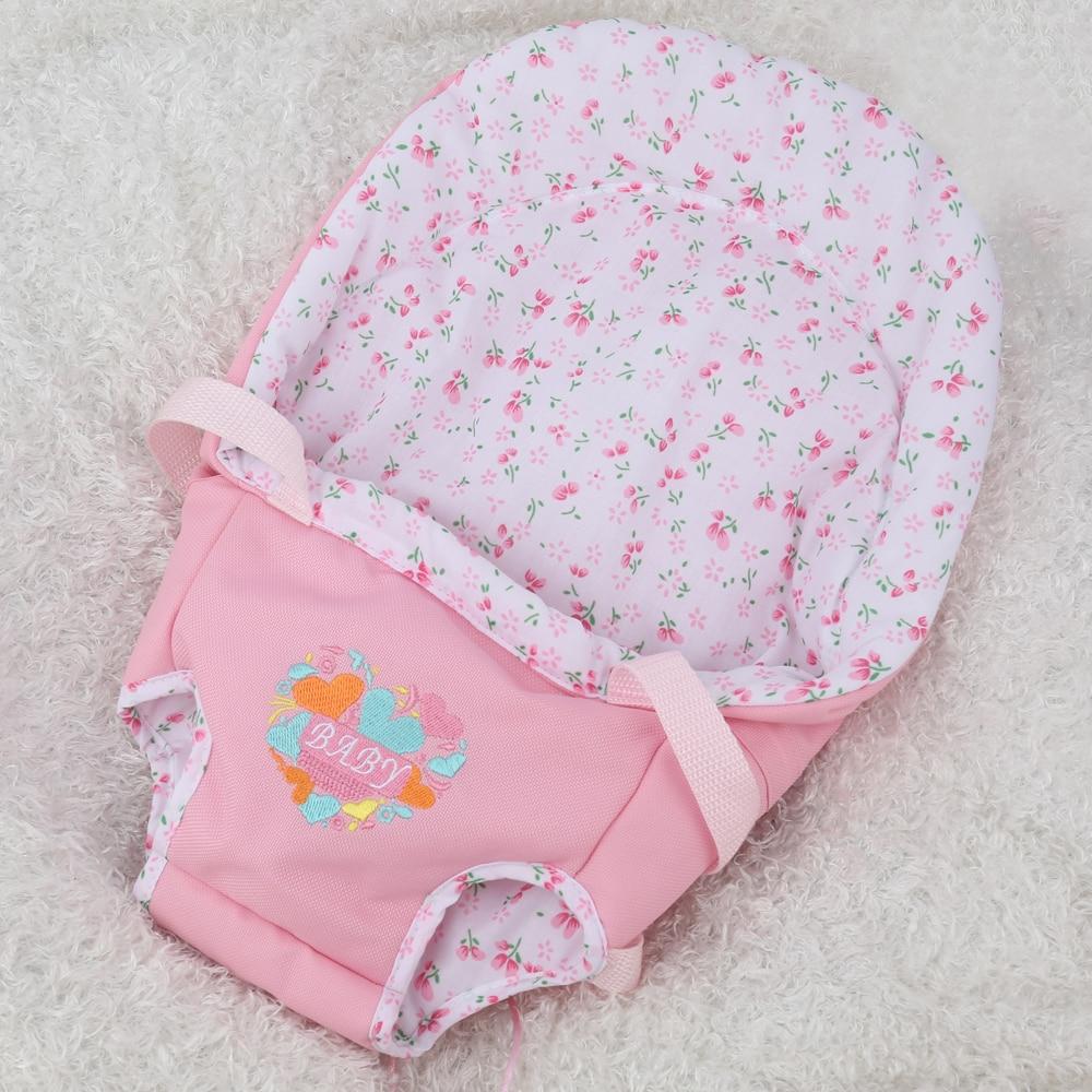 NPK BONECA Reborn Bebê Menina Cheia de silicone Vinil bonecas brinquedos para as crianças Presente de Aniversário Lucy Marrom Peruca de Cabelo bebe s reborn boneca - 6