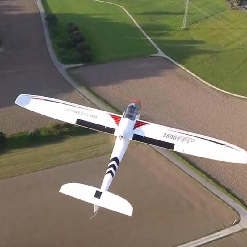 RC glider plane 2600mm 2.6M FPV Skysurfer PNP RC Frame remote control model airplanes for Hobby aircraft flying fpv x uav talon uav 1720mm fpv plane gray white version flying glider epo modle rc model airplane